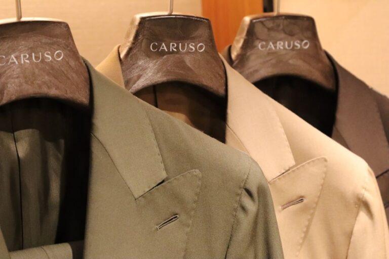 カジュアルウェアのご紹介 イタリアブランド CARUSO(カルーゾ)~新作販売ウェア~