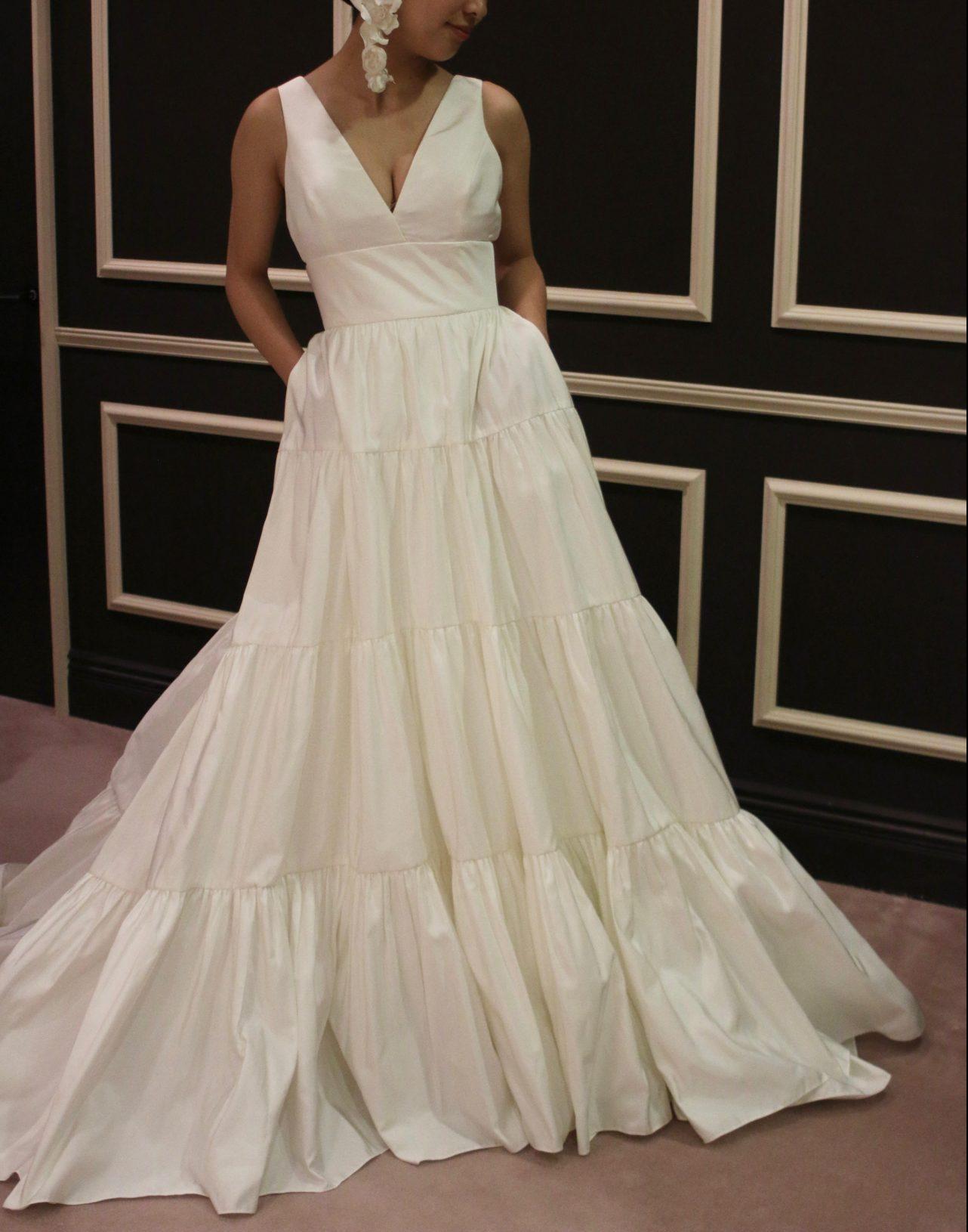 長野で海外ブランドドレスをお召し頂けるザトリートドレッシングにて素敵なウェディングドレスをご提案しています