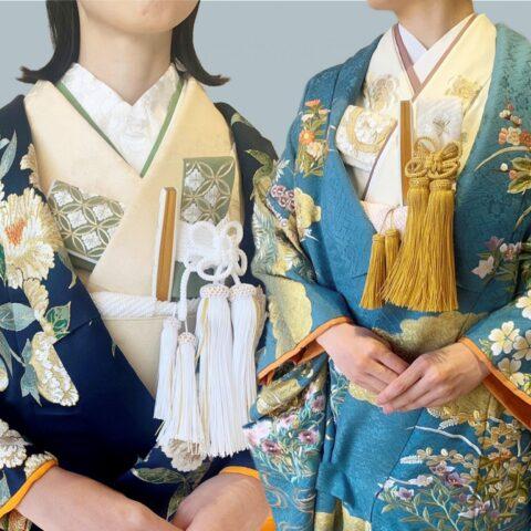 京都の和モダンな結婚式会場や日本庭園のある落ち着いた和婚におすすめのザ・トリート・ドレッシングの色打掛