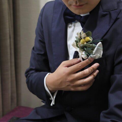 ザ・トリートドレッシング名古屋店提携の結婚式場ザ・カワブンナゴヤの新郎様におすすめのタキシード