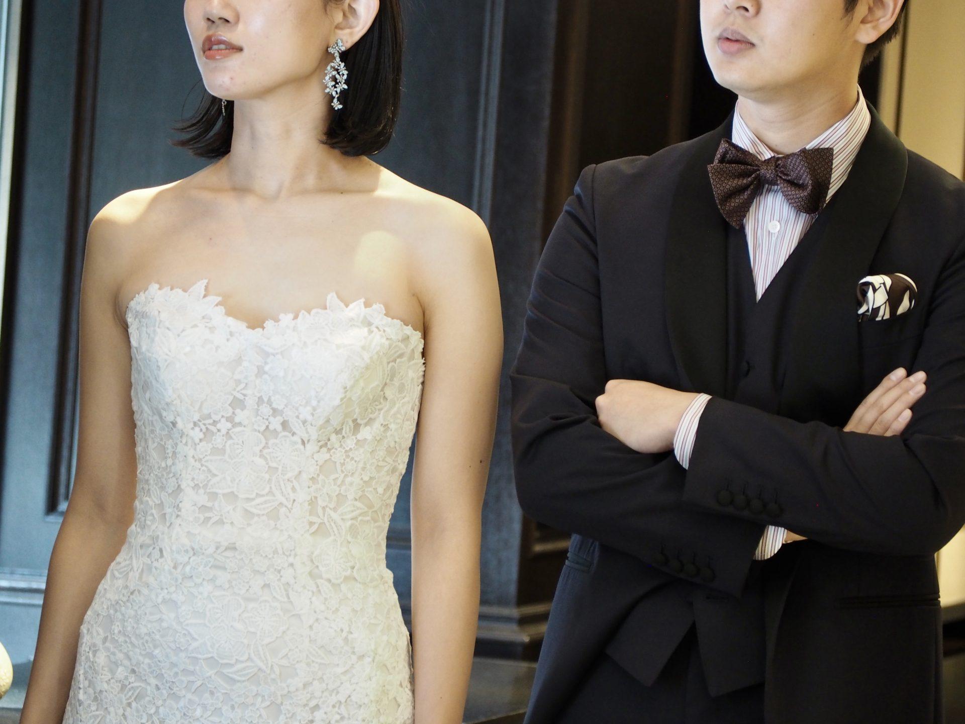 トリートドレッシング神戸店にてお取り扱いのあるギュピールレースが華やかなドレスのご紹介