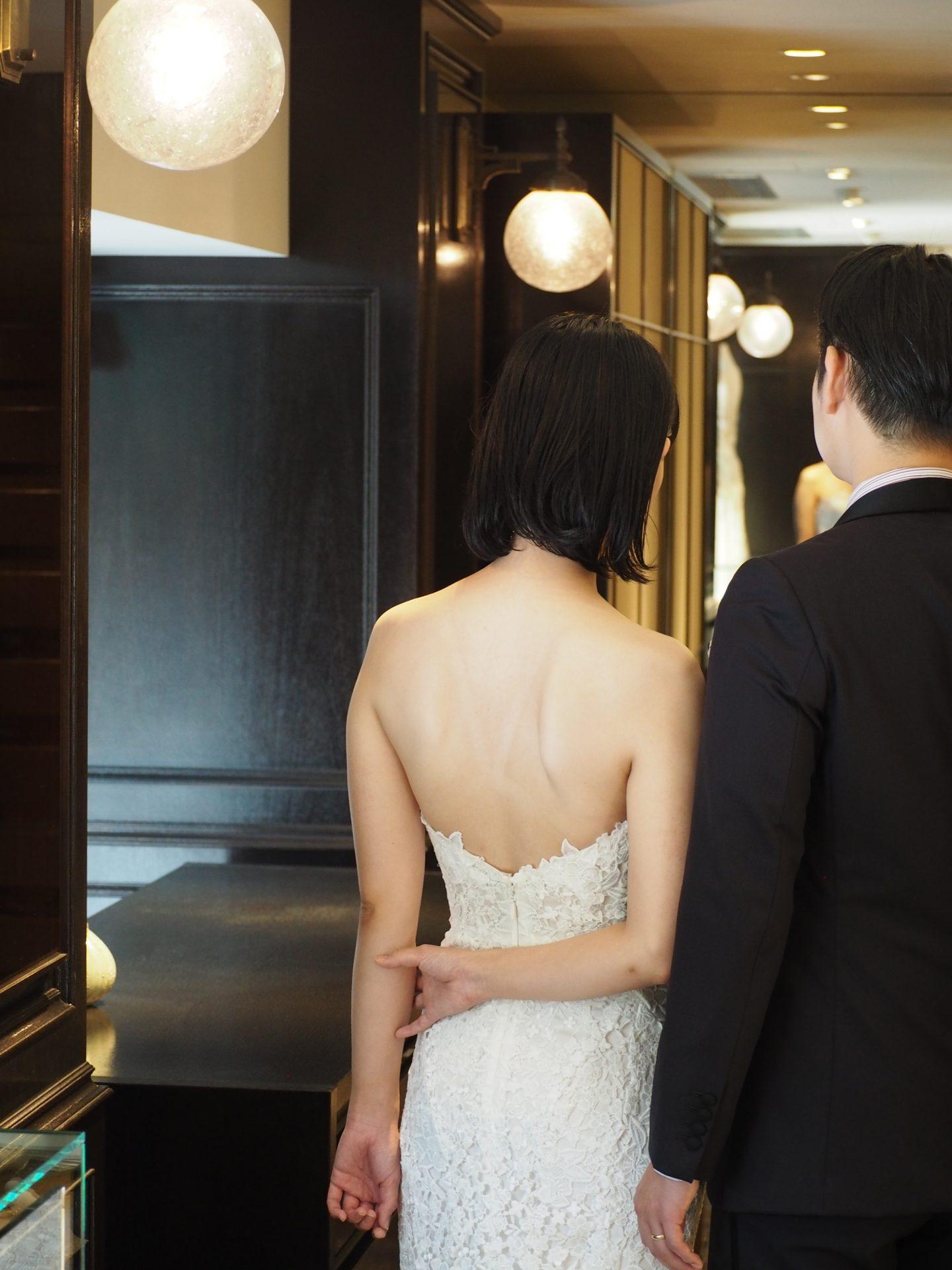 トリートドレッシング神戸店にてお取り扱いのあるモニークルイリエのドレスのご紹介
