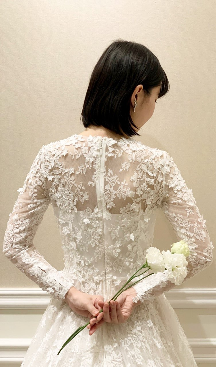 神戸・旧居留地のオリエンタルホテル神戸でおすすめのアントニオリーヴァ新作ウエディングドレス