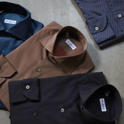 トリートジェントルマンがご紹介するお色直しのシャツ