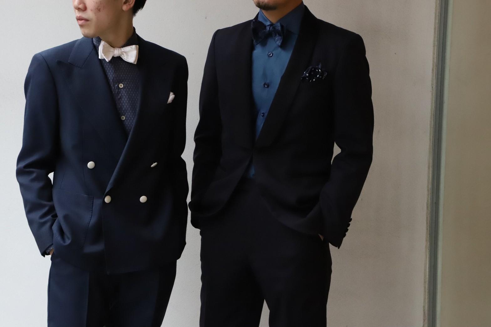 ザトリートドレッシング京都店がご紹介するご新郎様におすすめのイタリアブランドのエリコフォルミコラのシャツです。