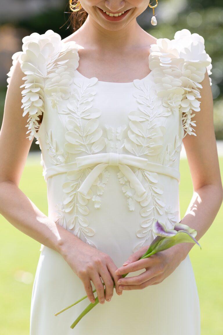 THE GARDEN ORIENTAL OSAKA(ザ・ガーデン・オリエンタル・オオサカ)におすすめのコーディネートのご紹介~ウェディングドレス~