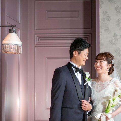 トリートドレッシングがおすすめするオリエンタルホテル神戸でアットホームウェディングはスレンダーラインのウェディングドレスで