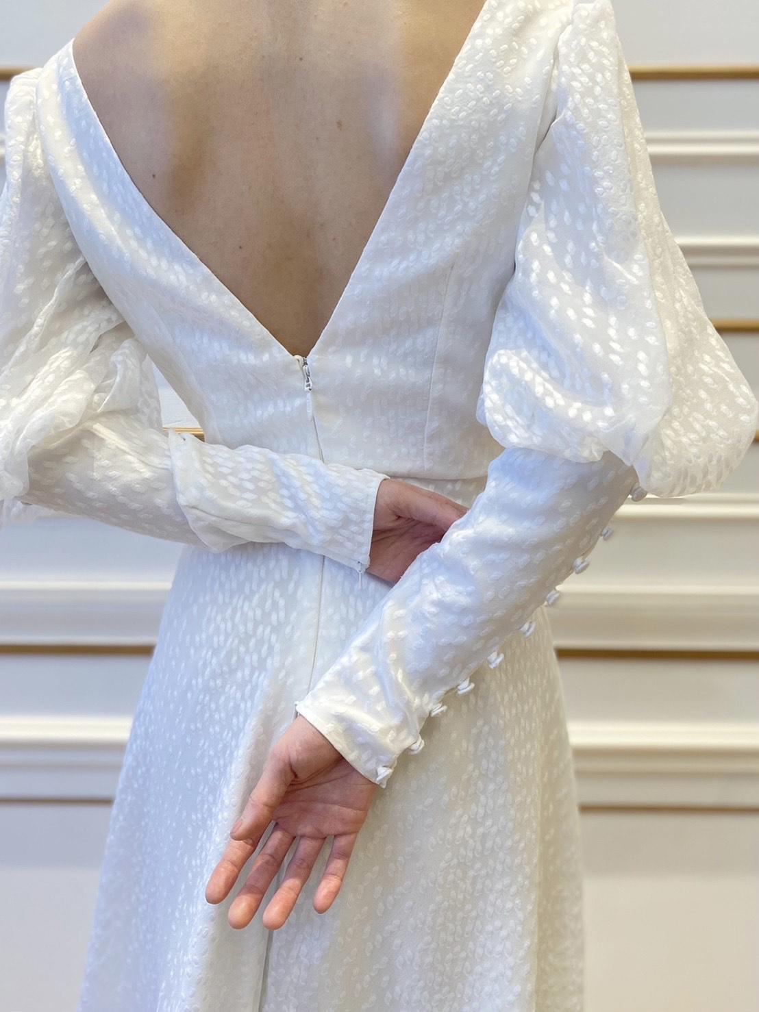 ザ・トリート・ドレッシング名古屋店に新しく入荷したウェディングドレスのブランドSafiyaaのご紹介