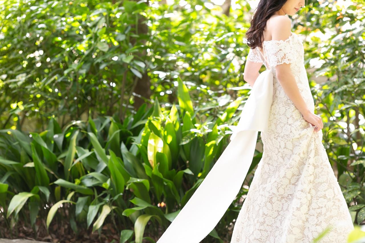 2Wayでお召いただけるザ・トリート・ドレッシング大阪店に入荷したレラ・ローズの新作のウェディングドレス