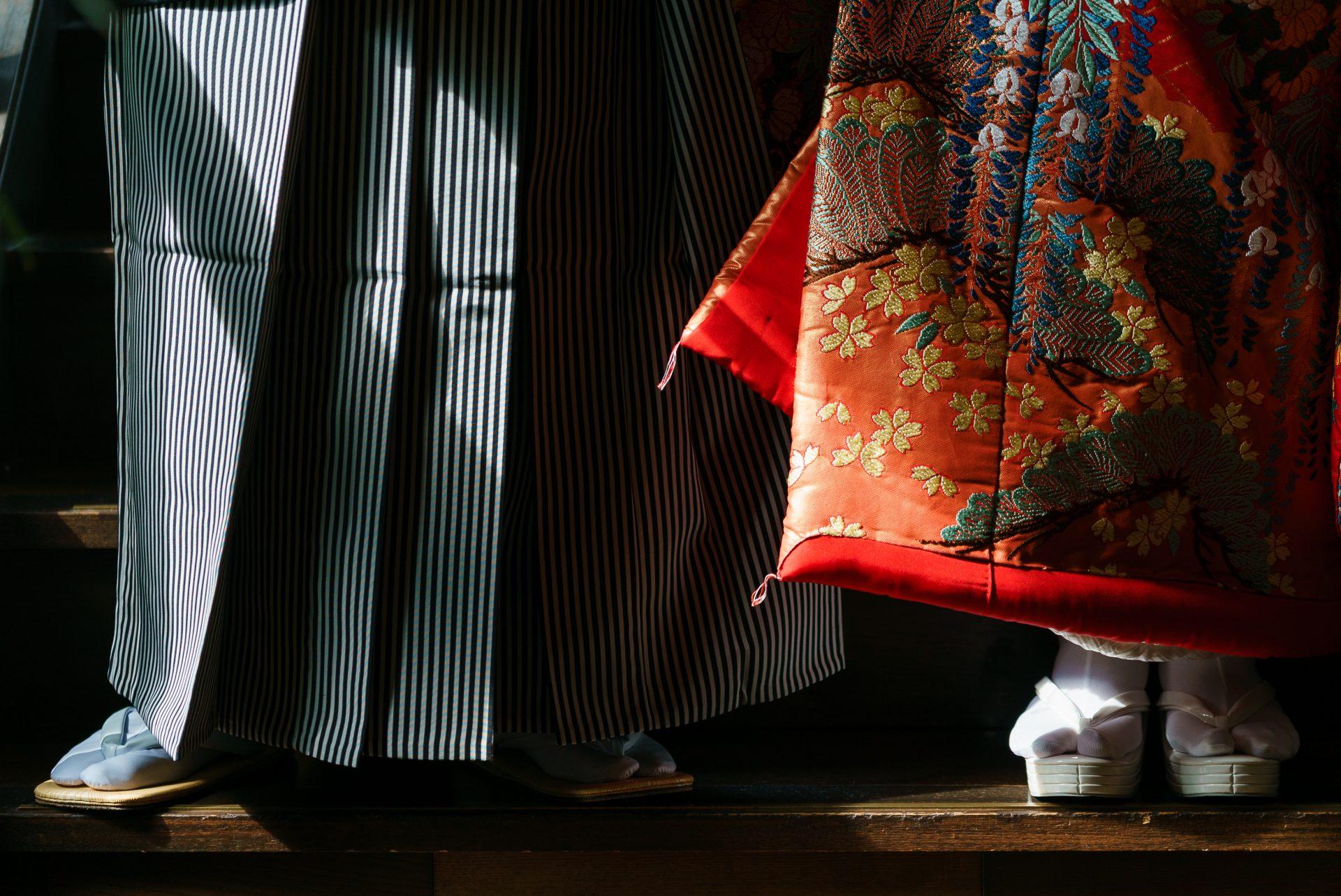 ザトリートドレッシング名古屋店がTHE KAWABUN NAGOYAでのお色直しにおすすめの赤の色打掛