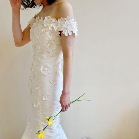 トリートドレッシング京都店にておすすめのオスカーデラレンタのマーメイドドレスのご紹介