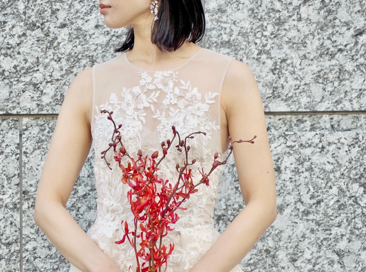 トリートドレッシング神戸店がおススメするブリス モニーク・ルイリエのマーメイドドレスのご紹介