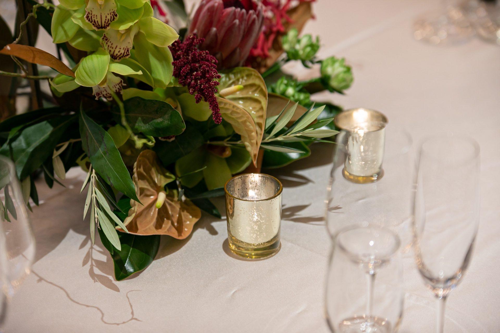 ザ・トリートドレッシングの提携会場ザ・コンダーハウスでお式をされた花嫁様のおしゃれなウェディングスタイル