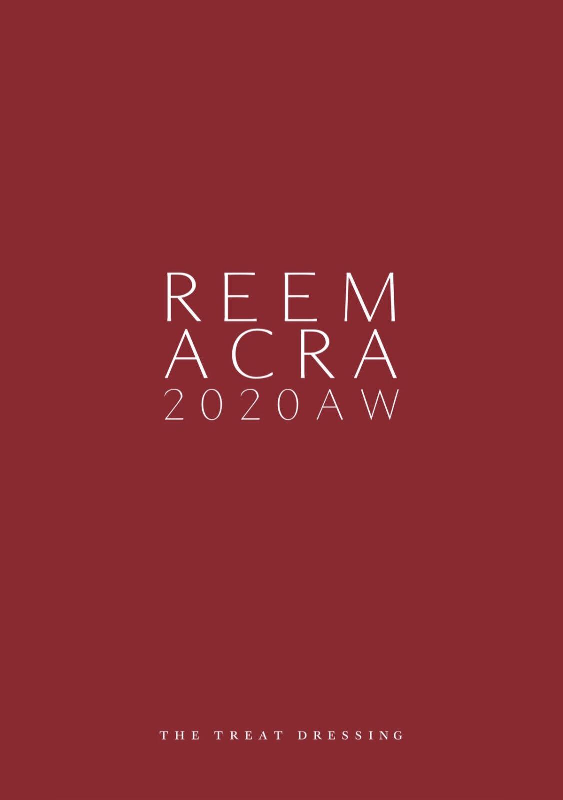 Reem Acra(リーム・アクラ)NYBFW 2020 fall ニューヨークブライダルファッションウィーク トレンドレポート