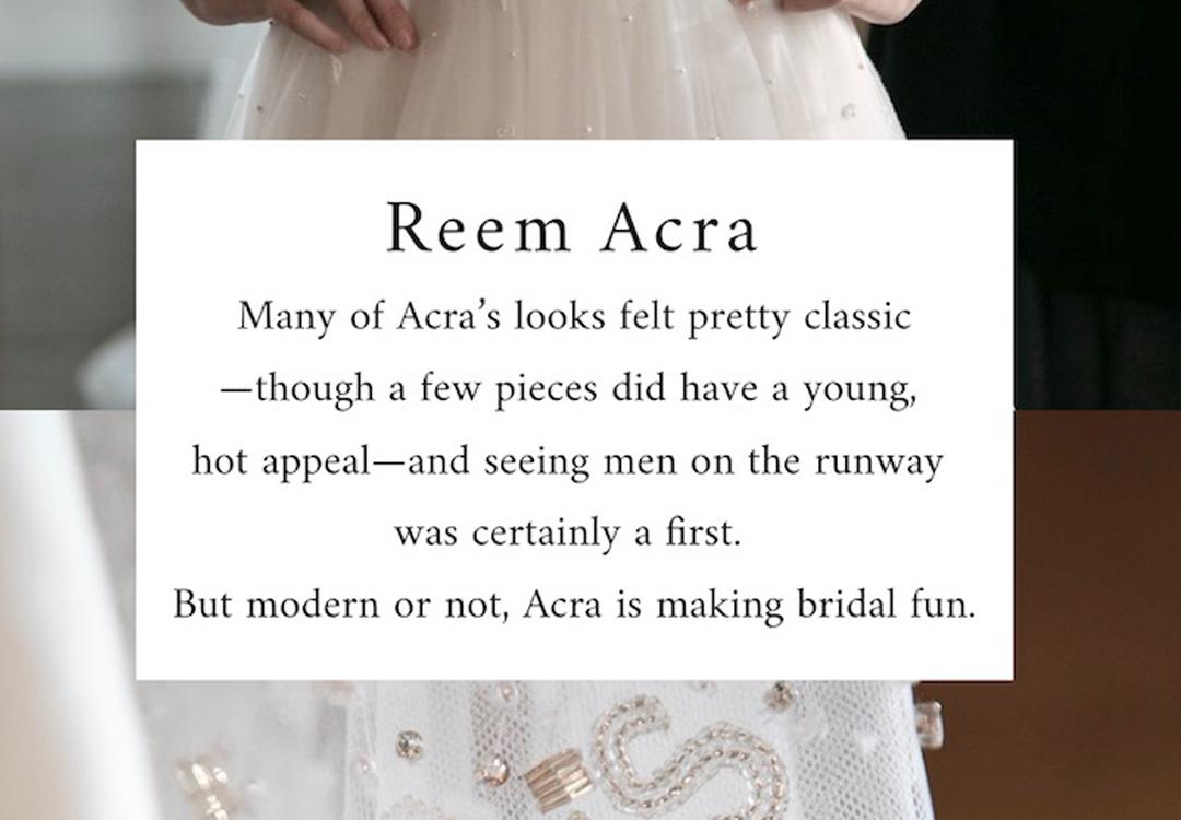 ザトリートドレッシングのREEM ACRAのドレスです。
