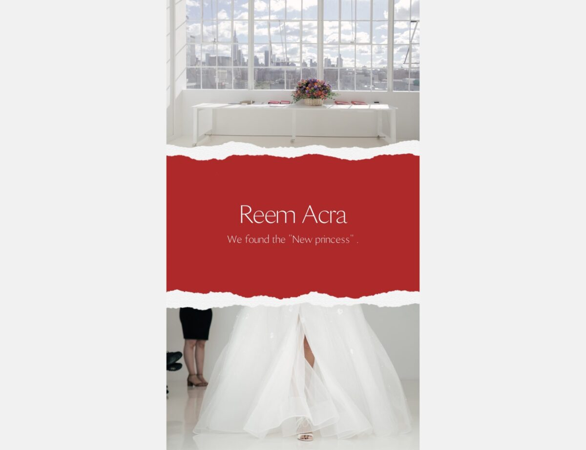 Reem Acra(リーム・アクラ)のドレス