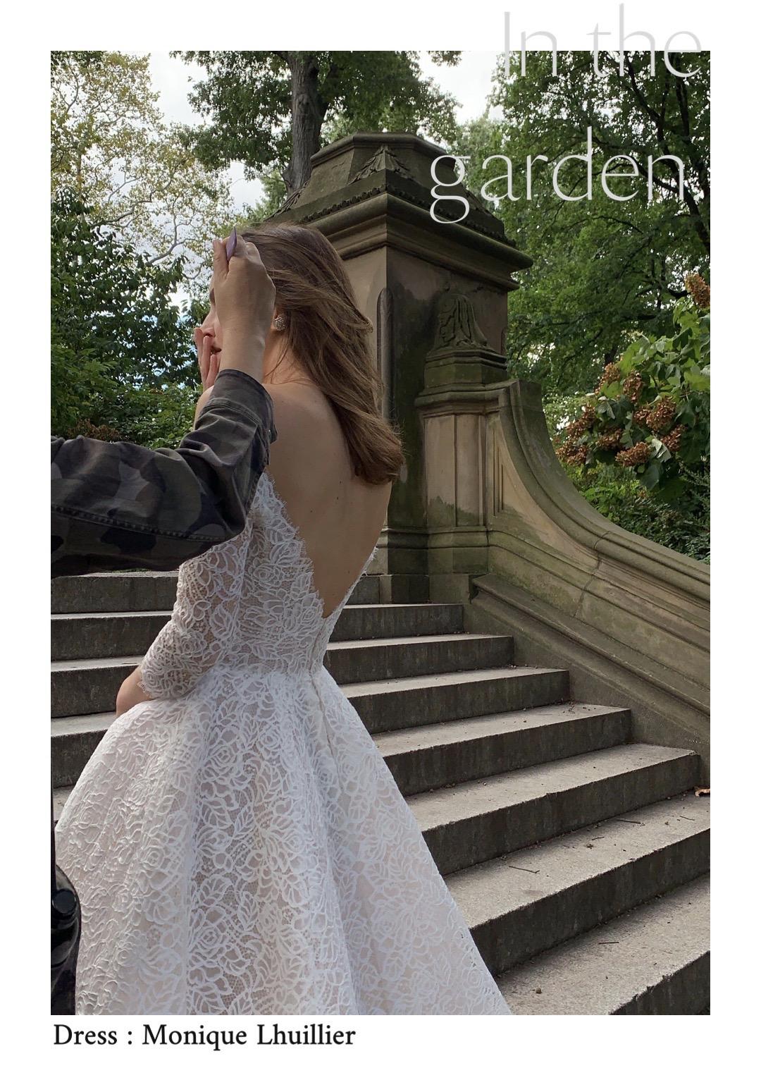 ザトリートドレッシングが取り扱う Monique Lhuillierモニーク・ルイリエの新作ドレス。