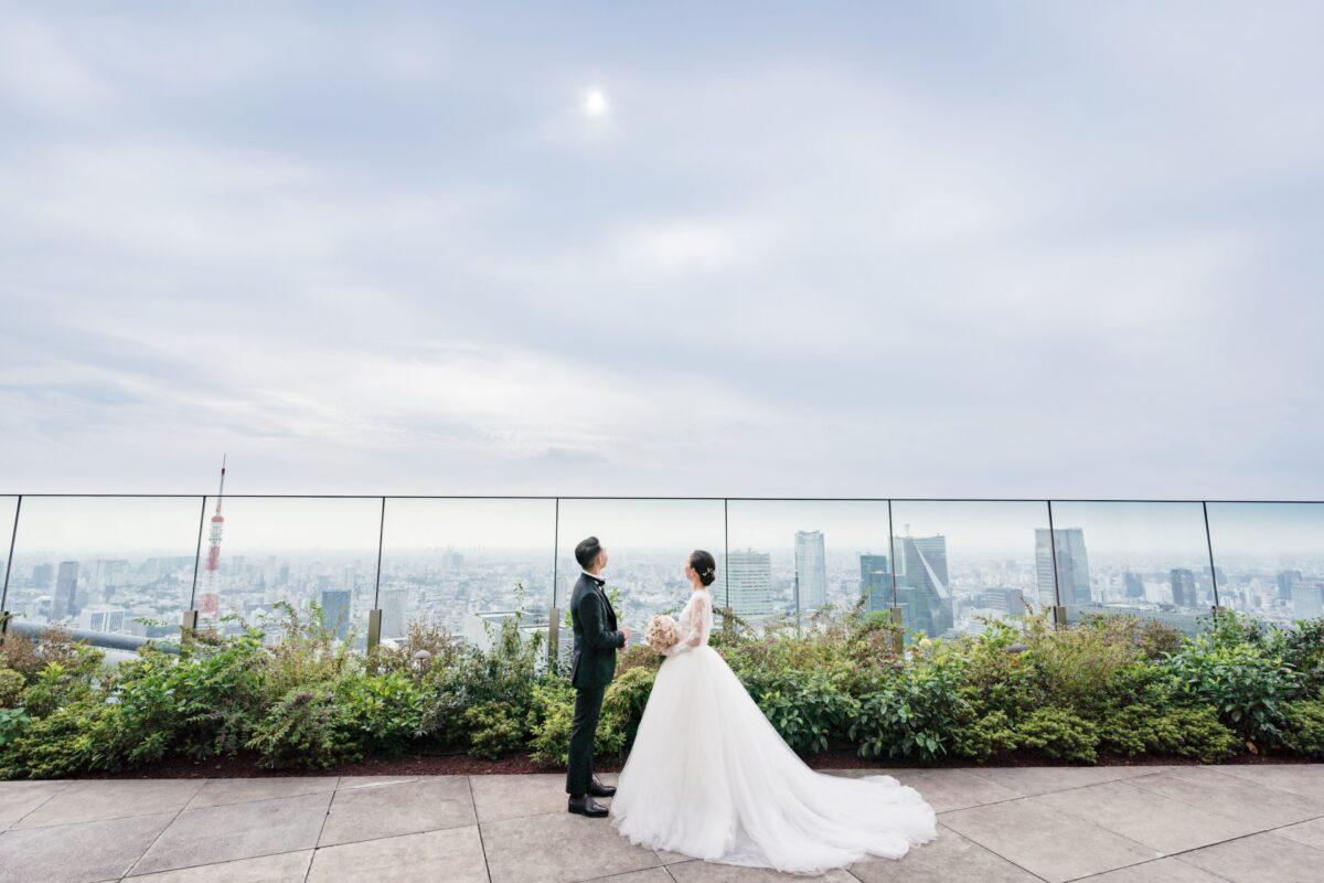 アンダーズ東京の提携ドレスショップザトリートドレッシングでは、広い会場に映えるボリュームのあるプリンセスラインのドレスやAラインのドレスも幅広く、ご紹介しております。