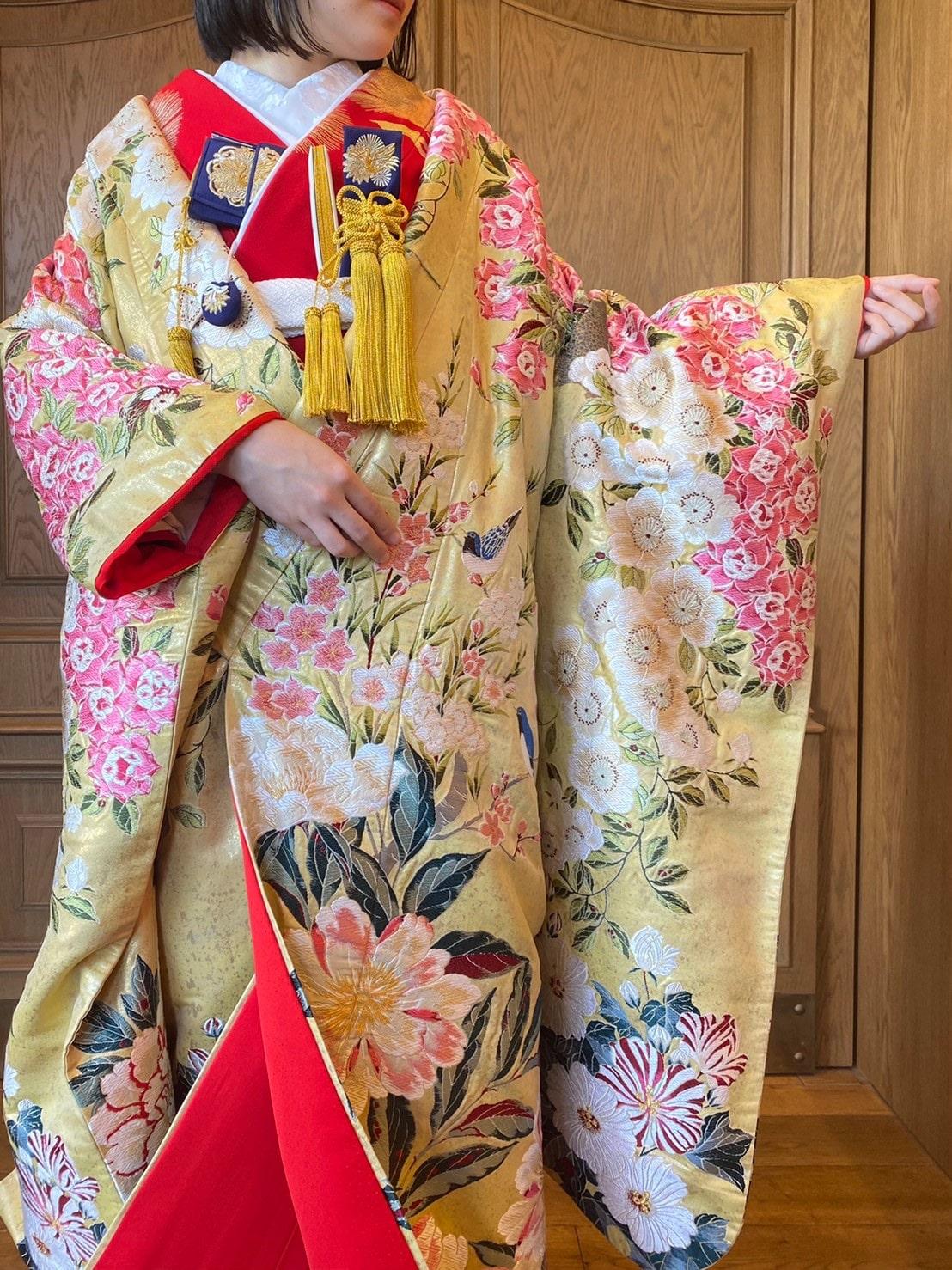 ザトリートドレッシング名古屋店が前撮りにおすすめの華やかな和装のコーディネート