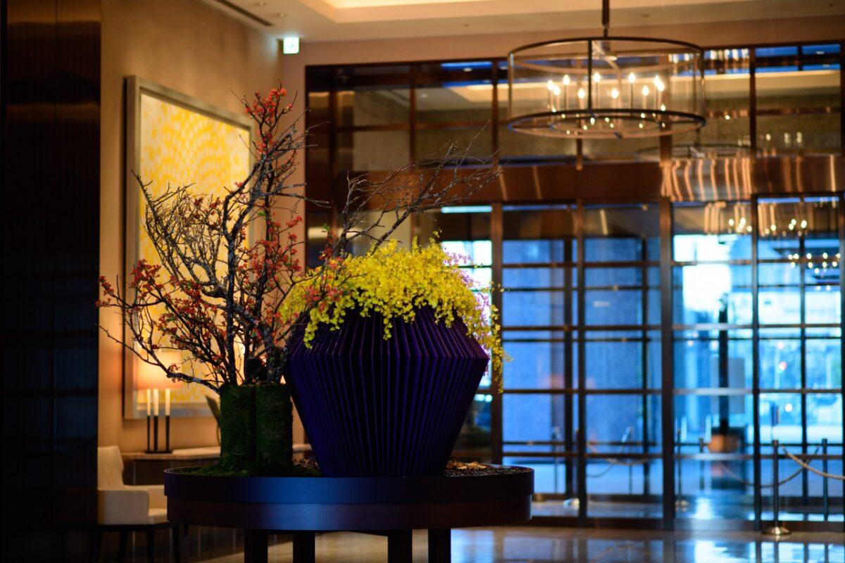 パレスホテル東京で冬婚を挙げられたお二人の当日の様子