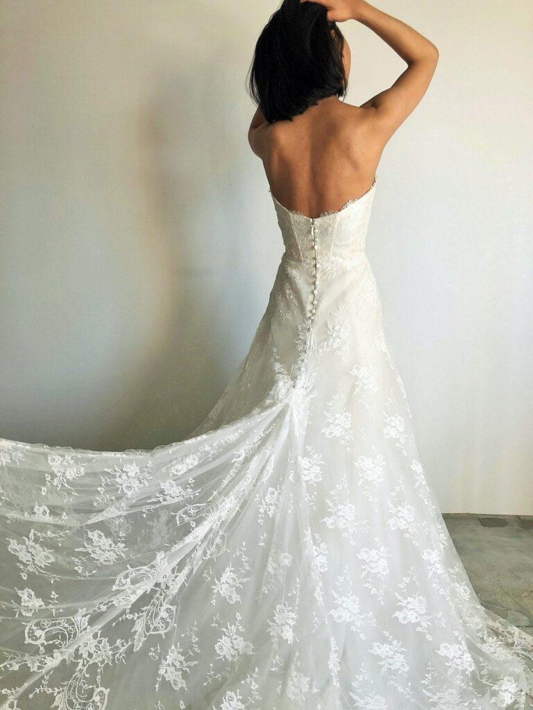 Monique Lhuillier(モニーク・ルイリエ)Treasure ウェディングドレスのご紹介