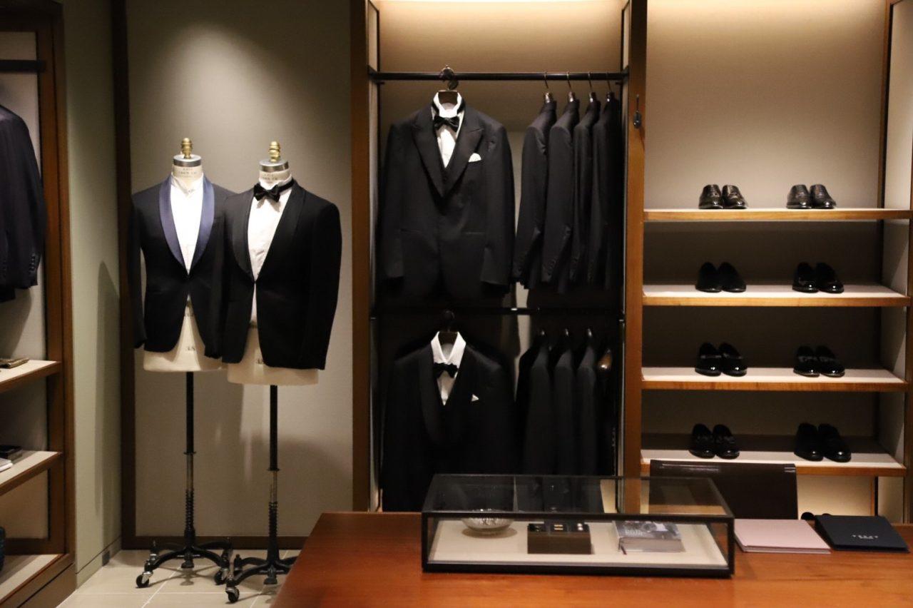 トリートドレッシング大阪店では結婚式を控える新郎様に向けたオーセンティックなフォーマルスタイルのご提案をさせていただいております。