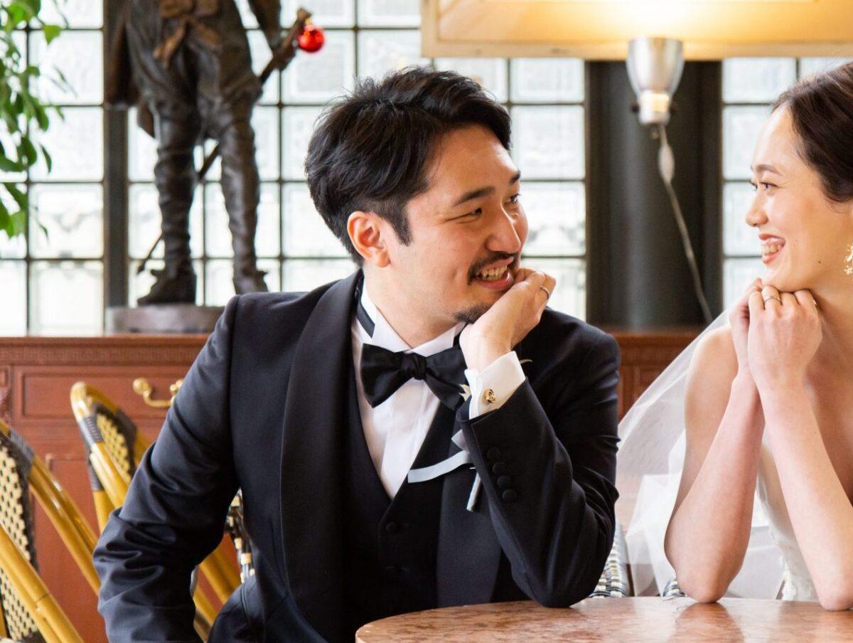 都内の人気結婚式会場、リストランテASOの提携ドレスショップであるザトリートドレッシングでは、レンタルタキシードのお取り扱いはもちろん、ご自身のお身体により細かく合わせたオーダータキシードのお取り扱いしております
