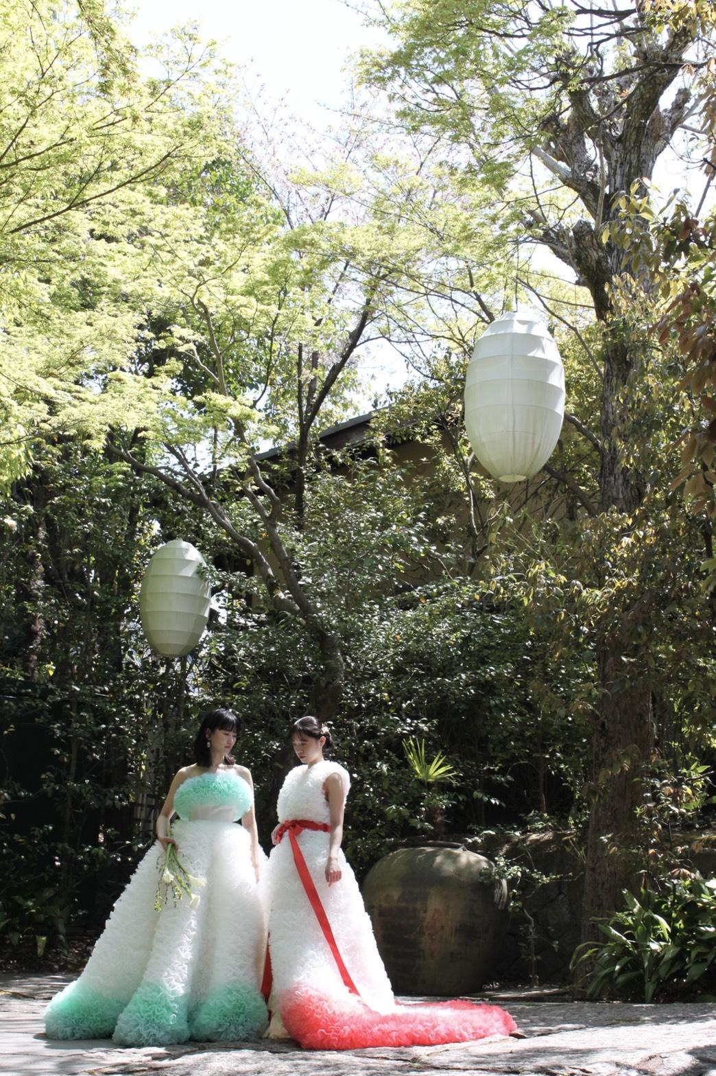THE TREAT DRESSING 京都店と提携しているソードー東山京都。自然な雰囲気に囲まれたナチュラルなスタイル