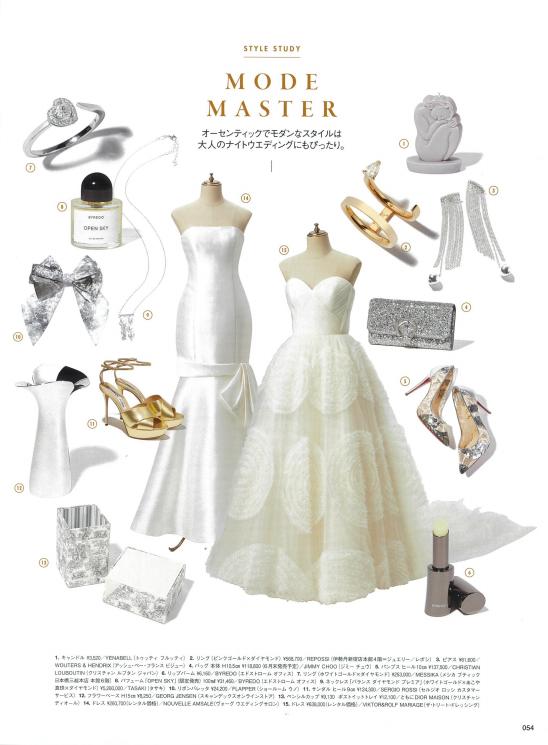 トリートドレッシングのヴィクターアンドロルフマリアージュのウェディングドレスはモードなテイストがおしゃれな花嫁に人気のブランドです。