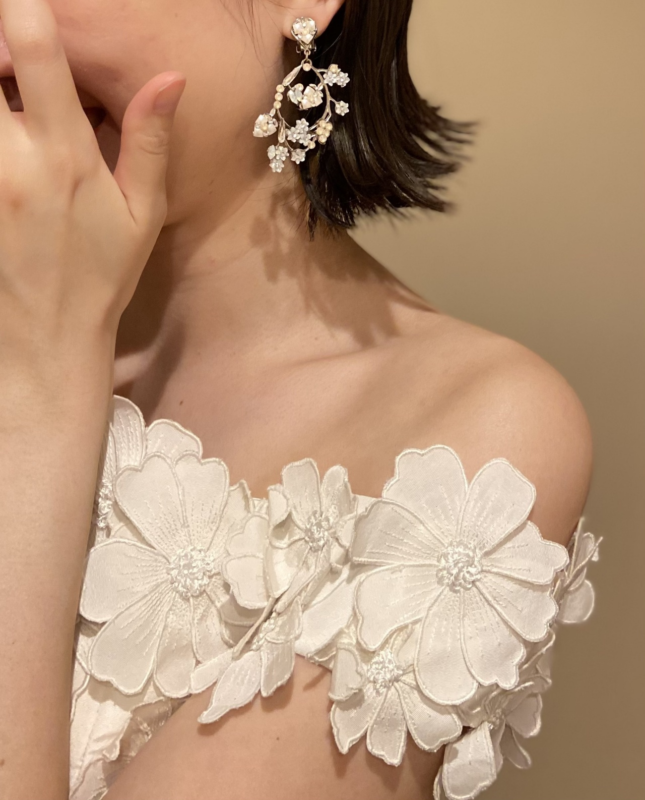 ウィズザスタイルで自然体で居れるマーメイドウエディングドレス