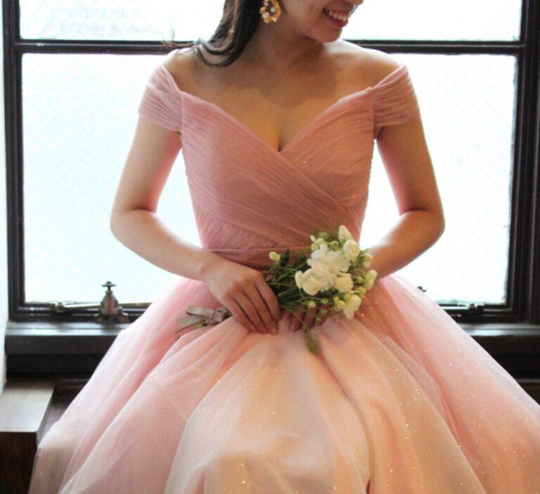 フォーチュンガーデン京都の結婚式におすすめのカラードレスのご紹介~Jenny Packham (ジェニー パッカム)~