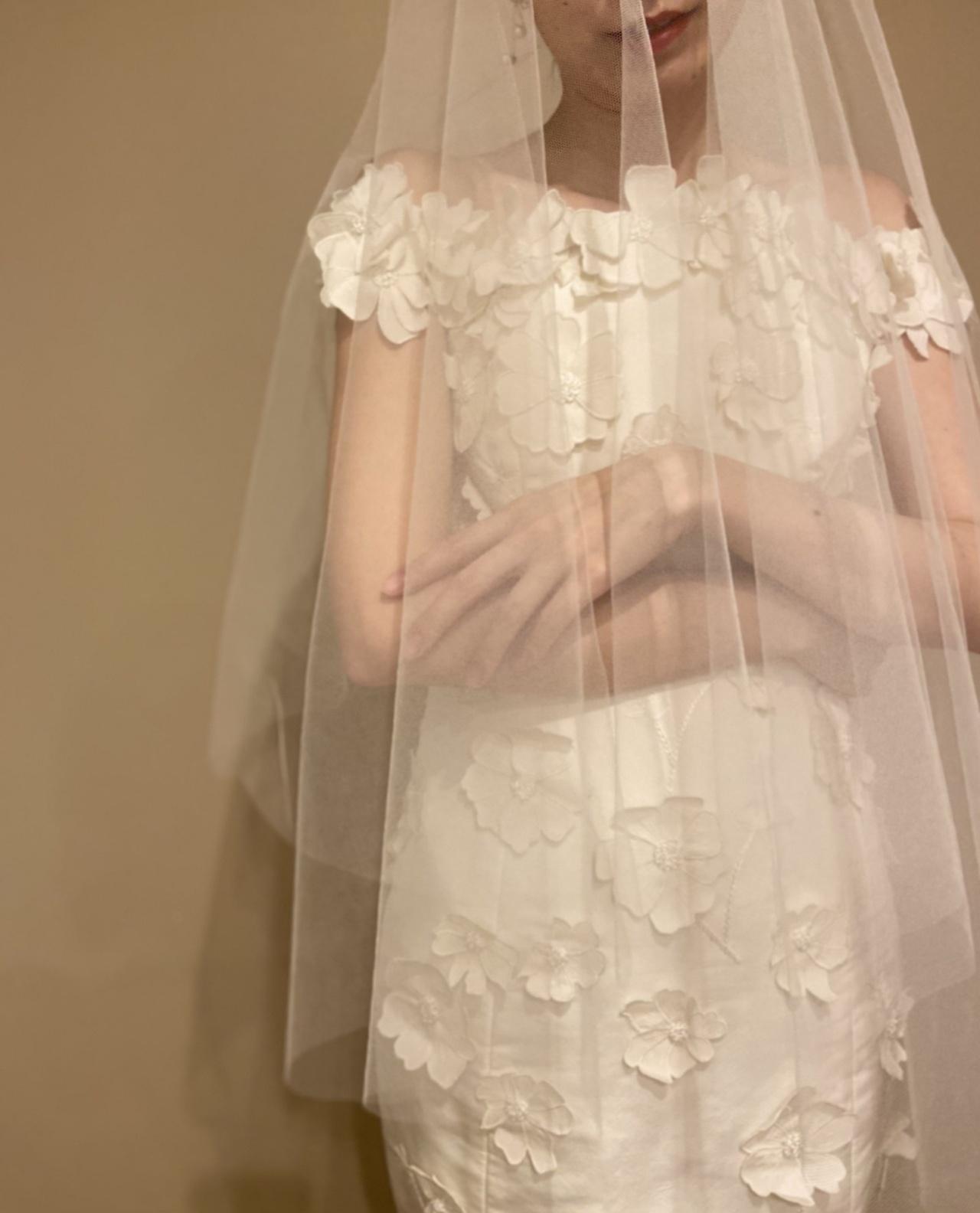 ウィズザスタイルの春夏の季節におすすめのお花モチーフのマーメイドドレス