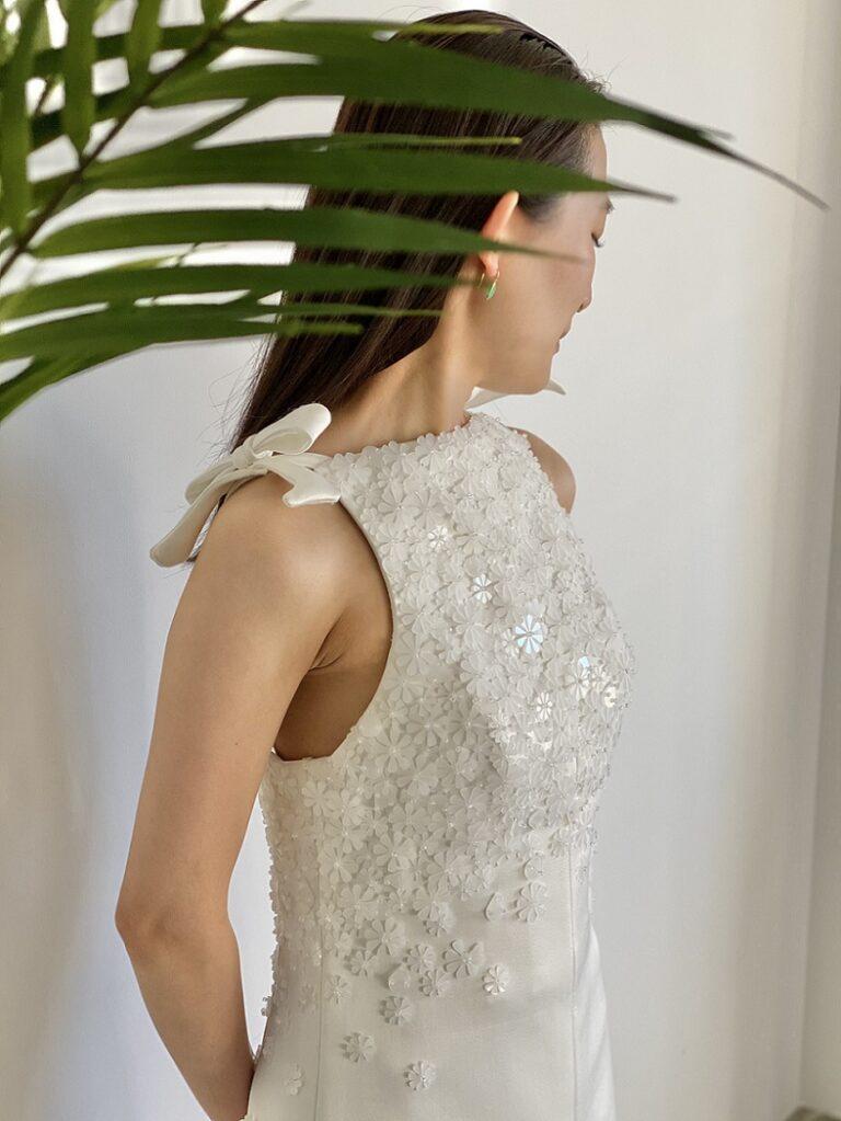 VIKTOR&ROLF MARIAGE(ヴィクター アンド ロルフ マリアージュ) VRM086 スレンダーラインが美しいウェディングドレスのご紹介