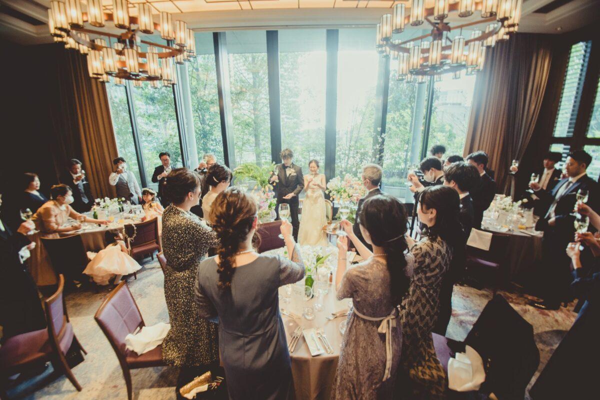 東京都心の駅からアクセスの良い赤坂プリンスクラシックハウスの建物は有形文化財にも登録された落ち着いた空間で、上質な邸宅ウェディングが叶います