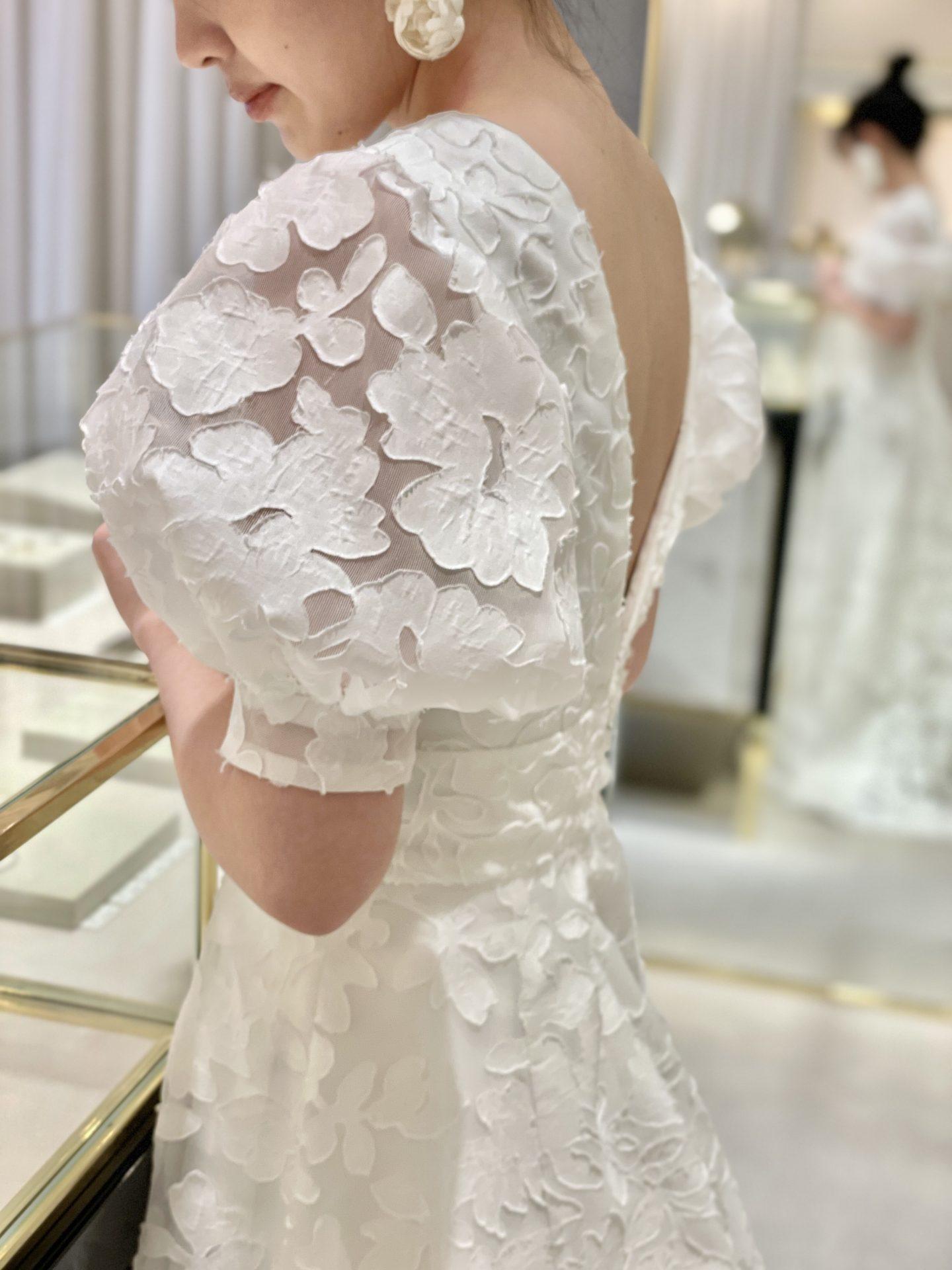 ザ・トリートドレッシングに入荷したオリジナルブランドのトリートメゾンのウエディングドレス