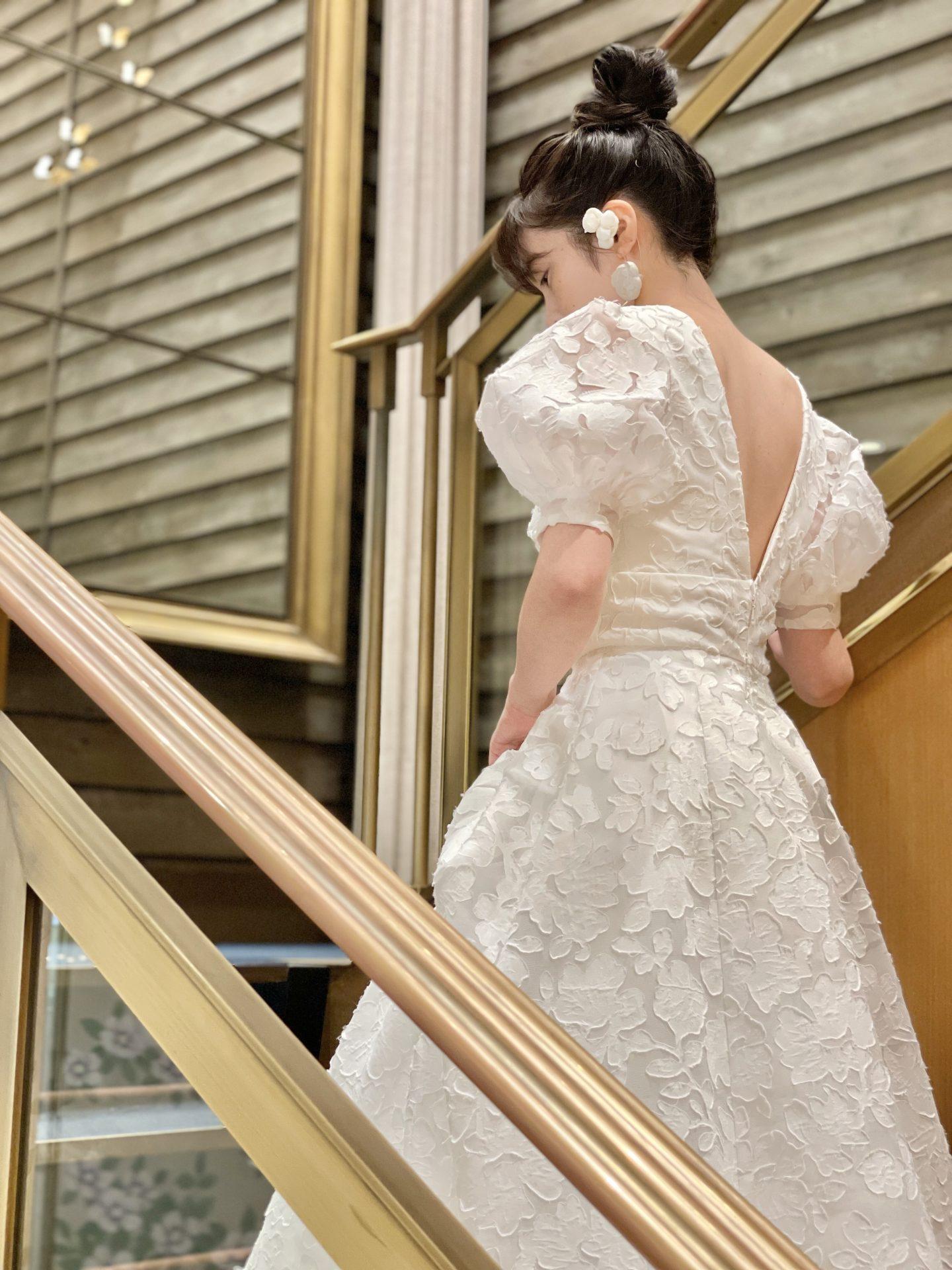 ザ・ガーデンオリエンタル大阪におすすめの上品なウエディングドレス