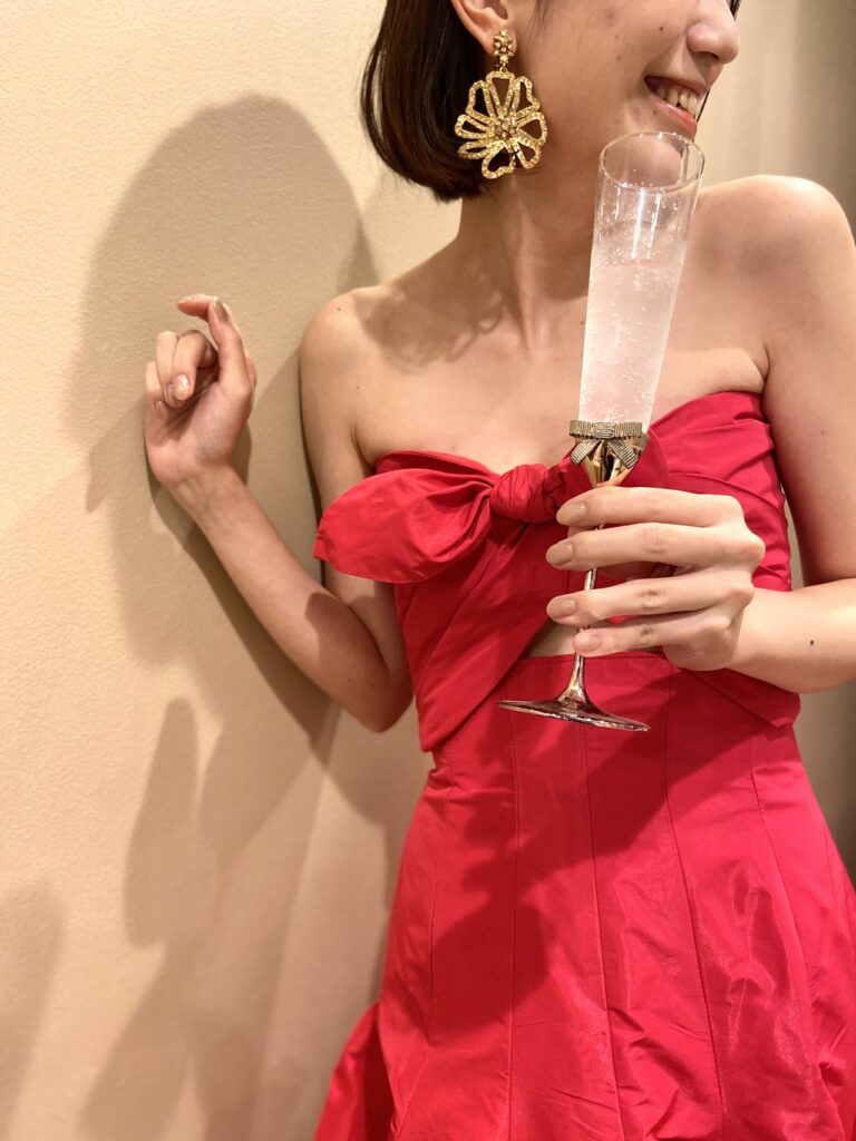 Monique Lhuillier (モニークルイリエ) 新作カラードレスのご紹介