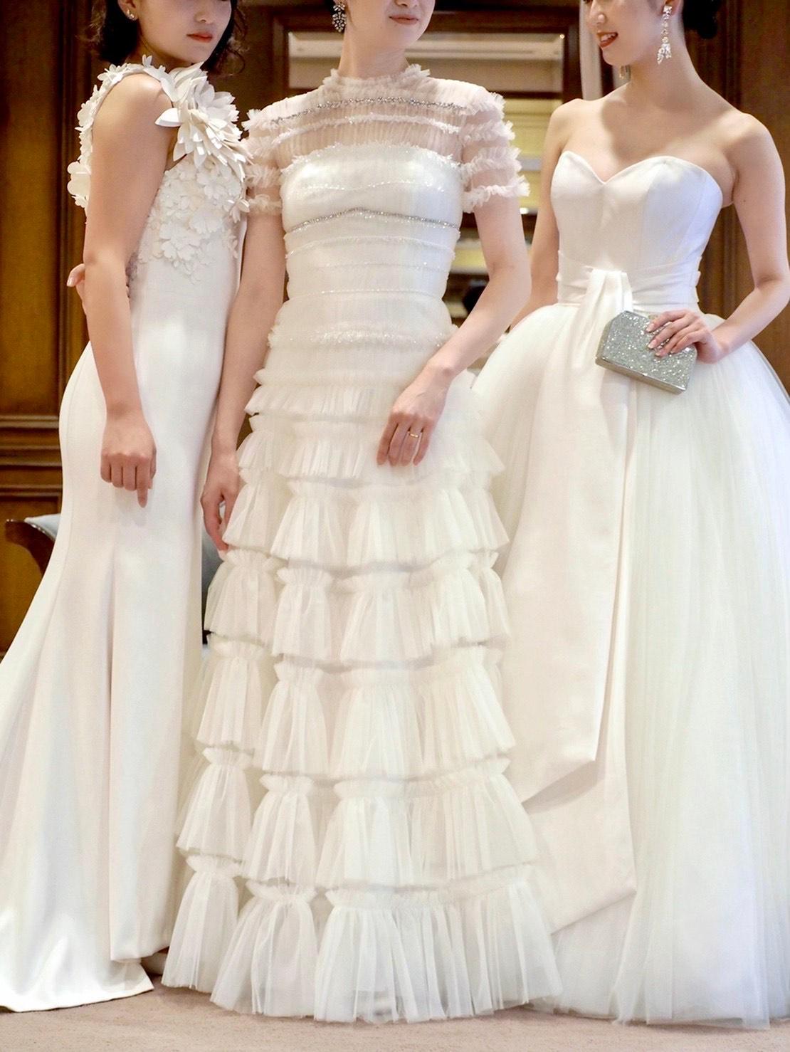 トリートドレッシング神戸店にて取り扱いのあるヴィクターアンドロルフのウエディングドレスのご紹介