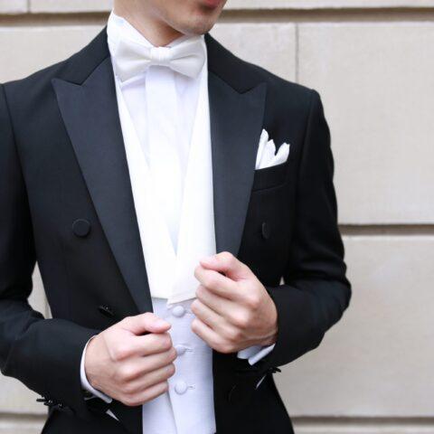 THE TREAT DRESSING名古屋店がおすすめする燕尾服でのフォーマルスタイル