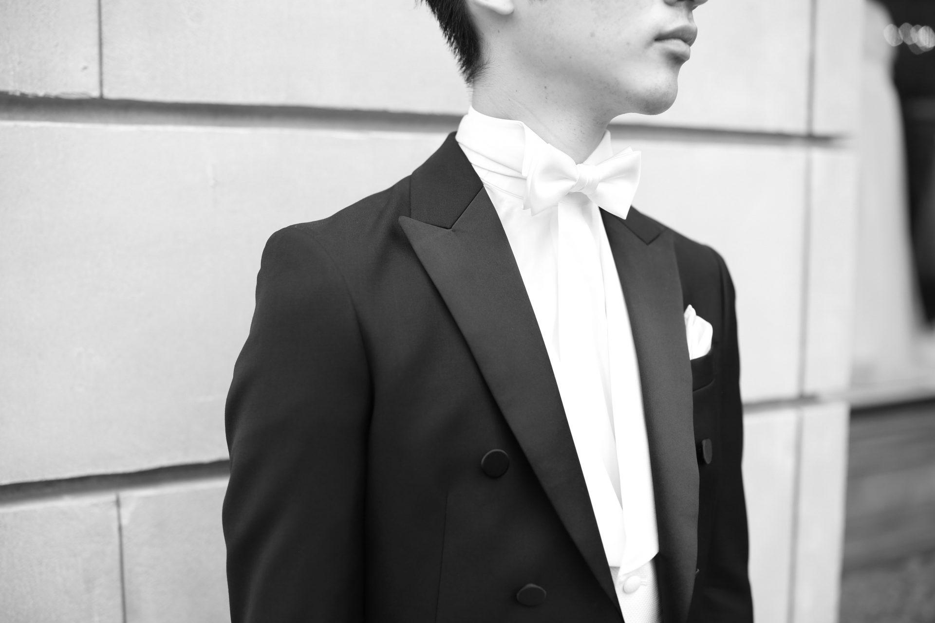 THE TREAT DRESSING名古屋店でお勧めするクラシックな装いにぴったりのフォーマルスタイルの燕尾服