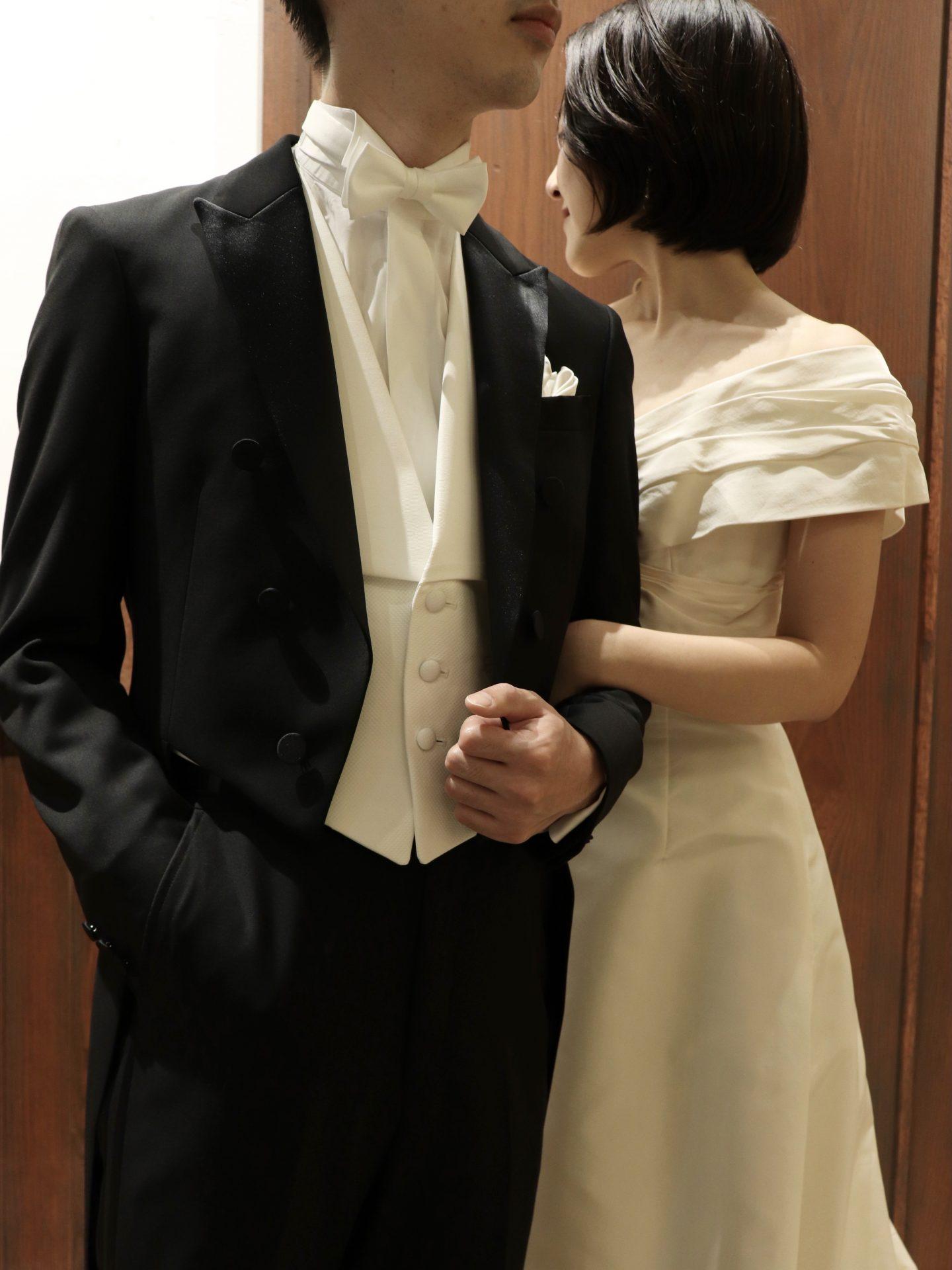 ・THE TREAT DRESSING名古屋店がおすすめしたいDORMEUILの生地を使った燕尾服