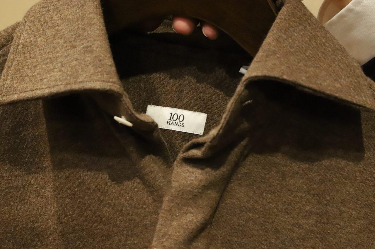 100HANDS(ハンドレッドハンズ)はオランダ、アムステルダム発祥の高級ハンドメイドシャツブランドです。