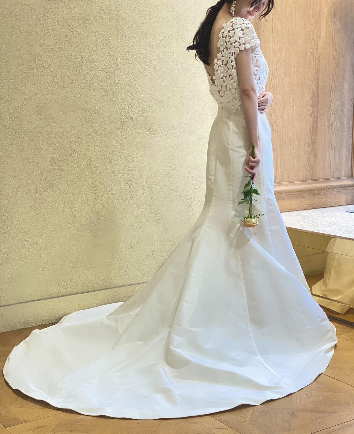 関西の結婚式場におすすめのザ・トリートドレッシングのマーメイドドレス