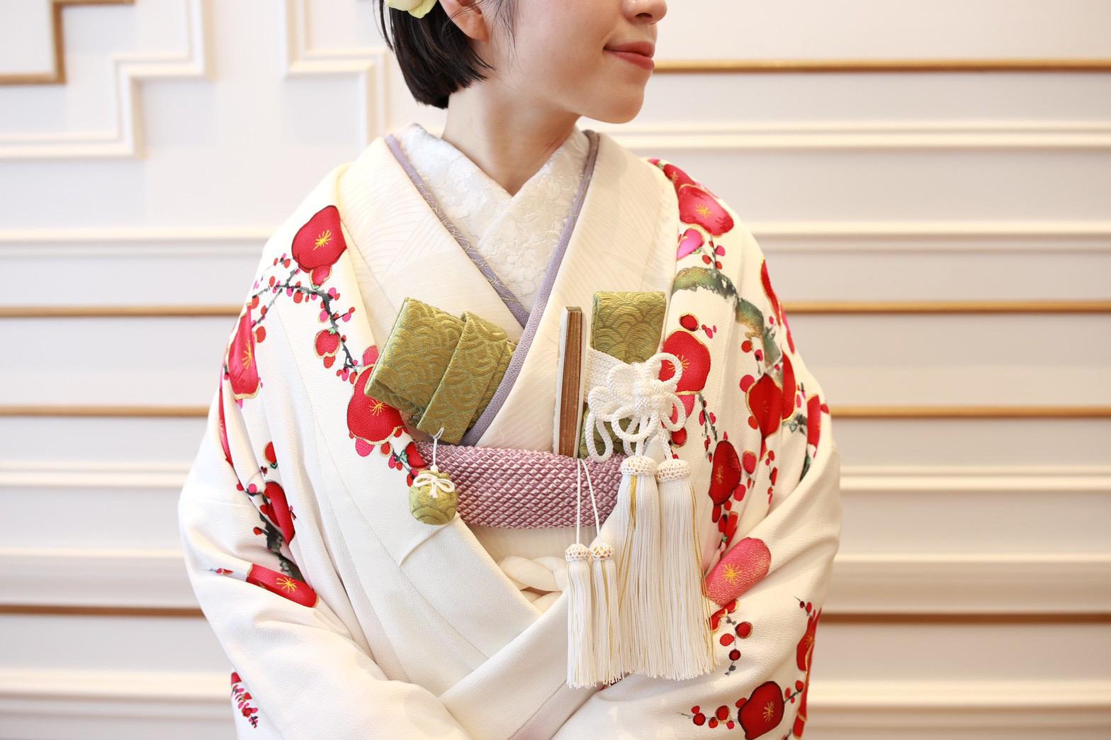 THE TREAT DRESSING名古屋店がご紹介する結婚式前撮りにおすすめの和装のコーディネート
