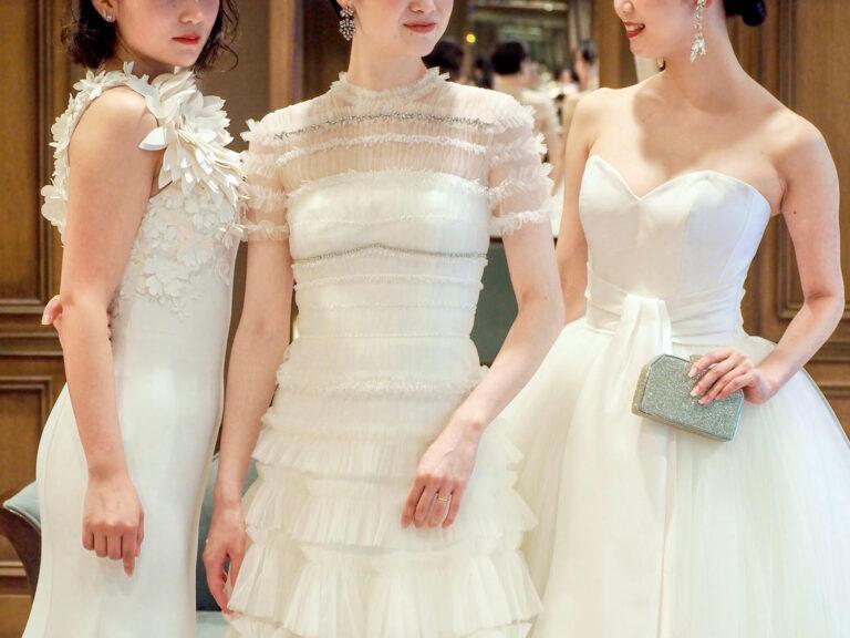 VIKTOR&ROLF MARIAGE(ヴィクター アンド ロルフ マリアージュ)のウエディングドレス3着のご紹介~プリンセスライン・マーメイドライン・スレンダーライン~