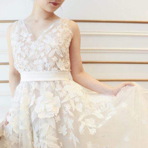 ザトリートドレッシング名古屋店がおすすめする人気のオスカーデラレンタのウェデイングドレス