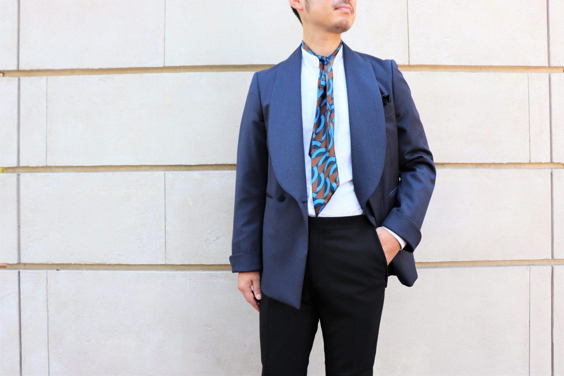 ・THE TREAT DRESSING名古屋店がおすすめする特別感のあるダブルブレストのカジュアルスタイル