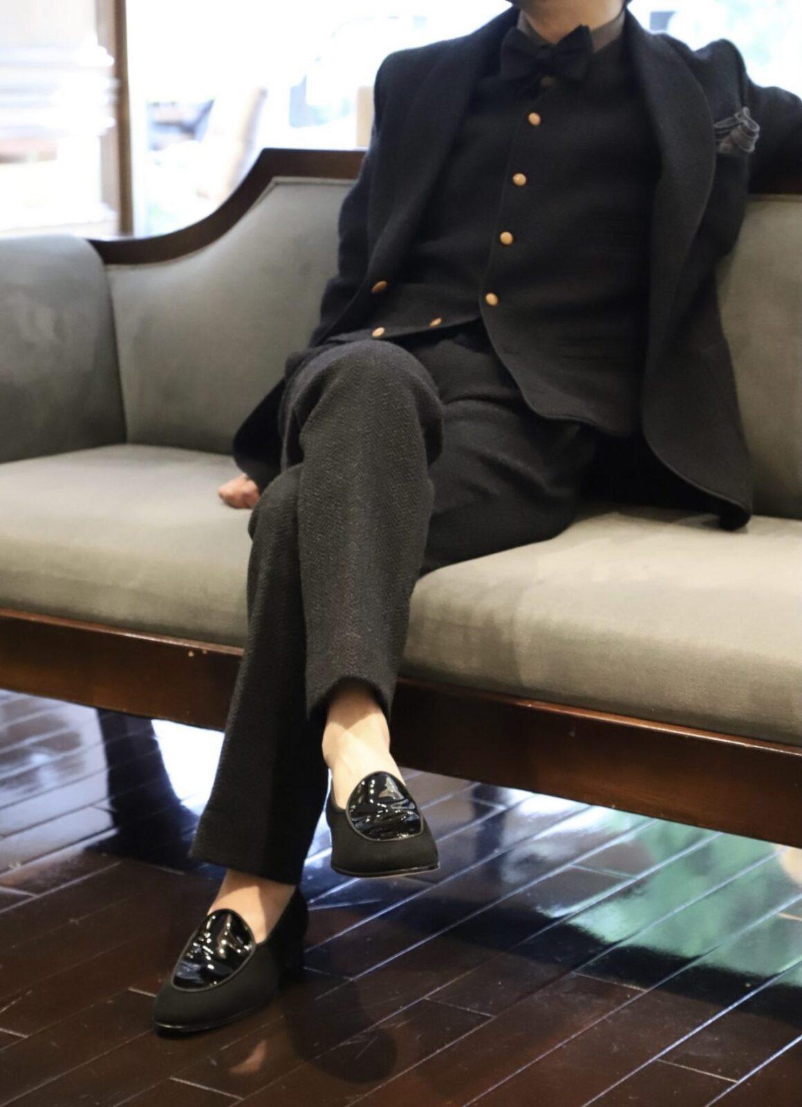 ザ・トリート・ドレッシングが提携するオリエンタルホテル神戸での式をされるの大人男性におすすめのイタリアブランドフェランテのシューズ