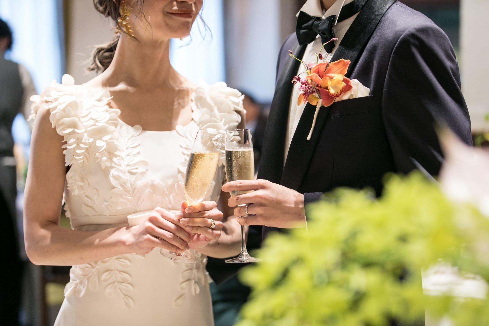 THE TREAT DRESSING名古屋店のビクターアンドロルフマリアージュのウェディングドレス